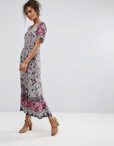Платье в стиле бохо Trollied Dolly - Розовый