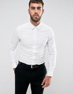 Эластичная приталенная рубашка Only & Sons - Белый