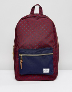 Рюкзак Herschel Supply Co Settlement Windsor Wine - Красный