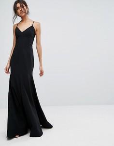 Длинное платье C/Meo Collective Right Now - Черный
