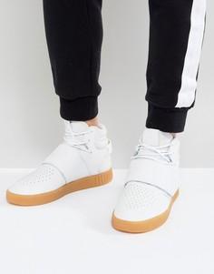 Белые кроссовки adidas Originals Tubular Invader BY3629 - Белый