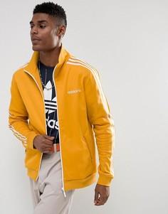 Желтая спортивная куртка adidas Originals Beckenbauer BR4326 - Желтый