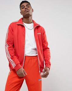 Красная спортивная куртка adidas Originals Beckenbauer BR4334 - Красный