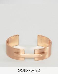 Браслет цвета розового золота Pilgrim - Золотой