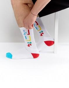 Носки с логотипом HUF - Белый