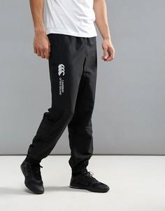 Черные спортивные штаны с манжетами Canterbury Stadium E512607-989 - Черный