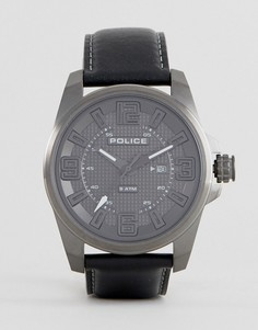 Черные часы Police Focus - Черный