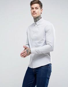 Оксфордская рубашка Dead Vintage - Серый