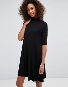 Свободное платье Vila - Черный
