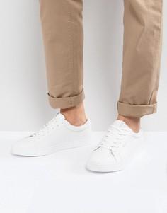 Белые кроссовки из искусственной кожи Jack & Jones Sable - Белый