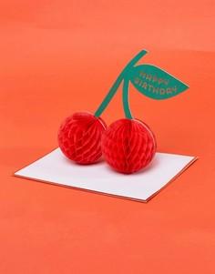 Открытка на день рождения с отделкой ячеистой бумагой Meri Meri - Мульти
