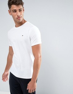 Белая футболка из органического хлопка с фирменным флагом Tommy Hilfiger - Белый