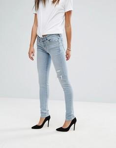 Рваные зауженные джинсы Levis 711 - Синий Levis®
