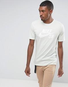 Зеленая футболка Nike SB Mint Pack 821946-372 - Зеленый