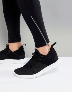 Черные кроссовки Nike Running Free Run CMTR 2017 880841-003 - Черный
