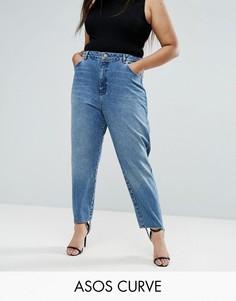 Джинсы в винтажном стиле ASOS CURVE - Синий