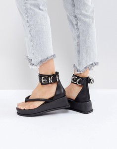 Черные сандалии Jeffrey Campbell - Черный