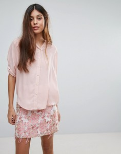 Блузка Louche Farrow - Розовый