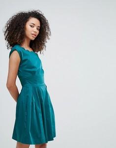 Платье с фигурными краями Louche Julita - Зеленый