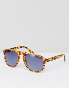 Солнцезащитные очки-авиаторы Jeepers Peepers - Коричневый