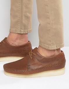 Туфли Clarks Originals Weaver - Рыжий