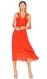 Платье миди cinnamon - Three Floor