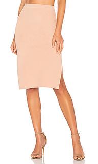Knitted pencil skirt - MINKPINK