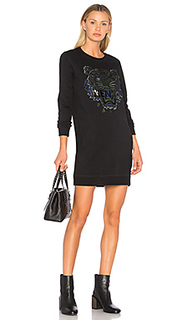 Tiger classic sweatshirt dress - Kenzo