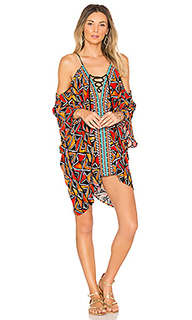 Off the shoulder caftan - Nanette Lepore