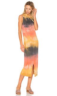 Split muscle tee dress - Raquel Allegra