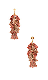 Tassel bunch earrings - Ettika