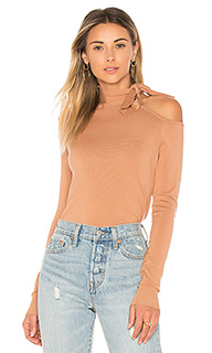 One shoulder tie sweater - 525 america