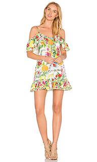 Платье с v-образным вырезом сзади - Camilla