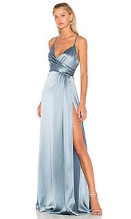 Вечернее платье с запахом - JILL JILL STUART