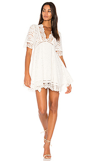 Eyelet flare dress - Nightcap