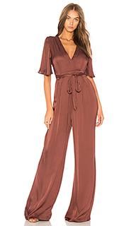 Пляжный костюм с широкими брюками ella - ASTR