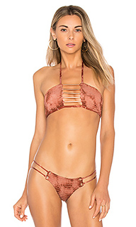 Верх бикини бандо scrunched up - Blue Life