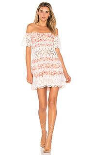 Платье с открытыми плечами cadence - For Love & Lemons