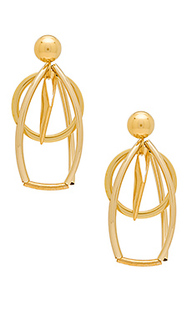 Caged circle earrings - LARUICCI