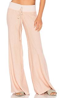 Широкие льняные брюки - krisa