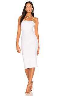 Платье миди quinn - Donna Mizani