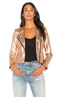 Metallic moto jacket - BLANKNYC [Blanknyc]