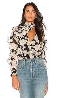 Блуза с завязкой на шее - NICHOLAS