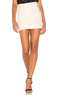 Grommet mini skirt - Michelle Mason