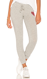 Kizzy red heart sweatpant - Lauren Moshi