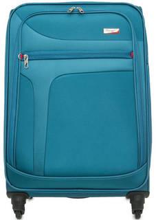 Текстильный чемодан на колесах Verage
