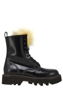 Кожаные ботинки Brunello Cucinelli