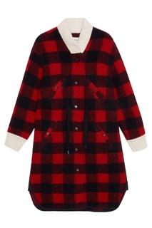Шерстяное пальто Glitz Isabel Marant Etoile
