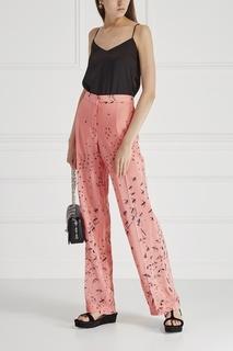 Шелковые брюки Valentino