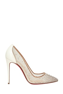 Туфли Follies Strass 100 Christian Louboutin